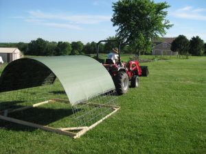 Fox Valley Homestead Portable Shade Structure